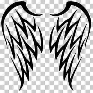 Black Angel Wings PNG Images, Black Angel Wings Clipart Free.