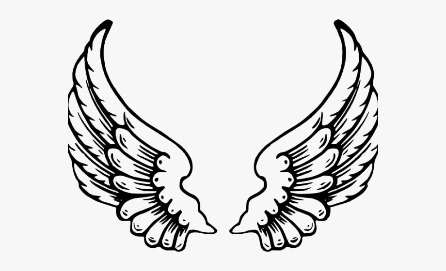 Dark Angel Clipart Wing.