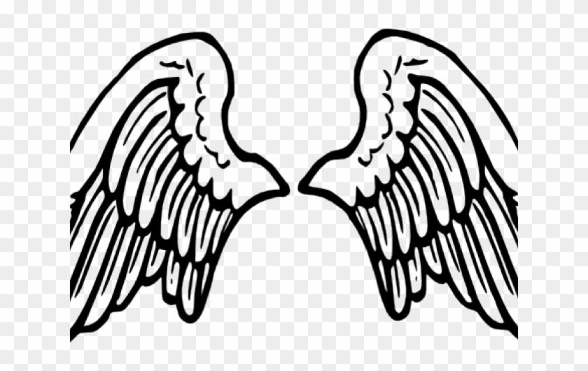 Wings Clipart Line Art.