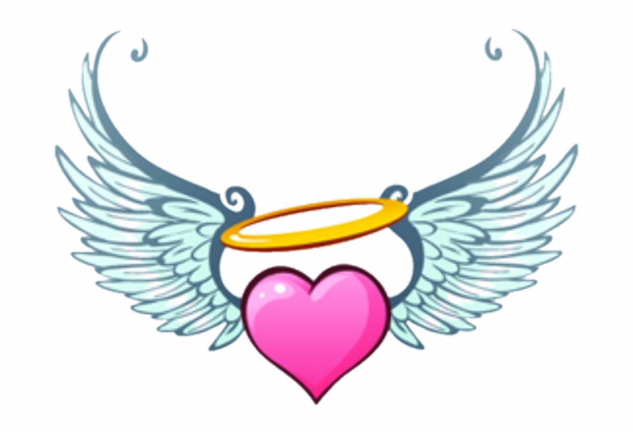 angel #hearts #wings #heart.