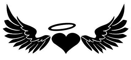 Amazon.com: Heart Angel Halo Wings.