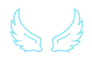 Angel wings SVG Cut Files.