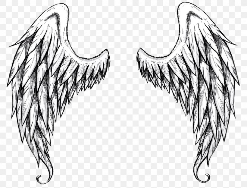 Drawing Outline Angel Clip Art, PNG, 1051x800px, Drawing.
