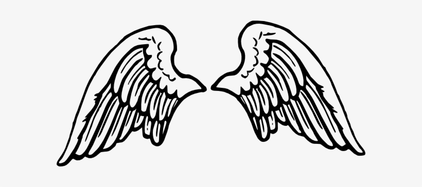 Angel Halo Wings Png Hd.