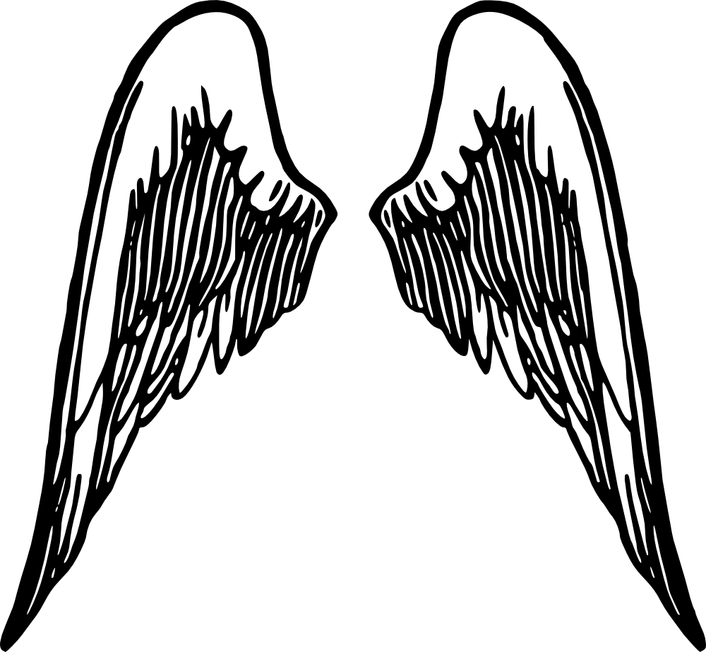 Angel Wing Clip art.