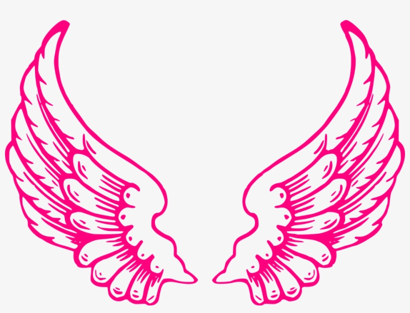 Dark Angel Clipart Feather Wing.