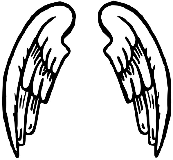Free Angel Wings With Halo Drawings, Download Free Clip Art.