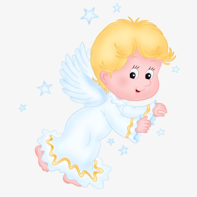 Angel Baby, Angel Clipart, Baby Clipart, Child PNG.