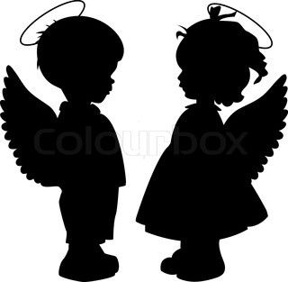 Angel with slipping halo clipart clipart images gallery for.