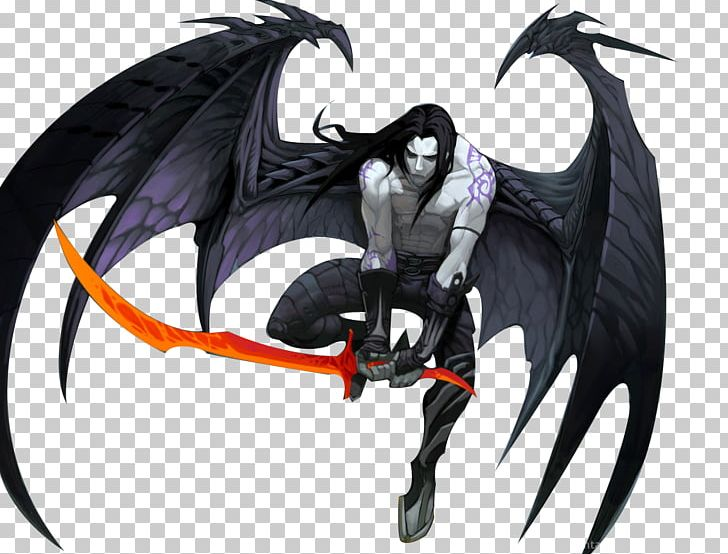 Demon Fallen Angel Sword PNG, Clipart, Angel, Anime, Art.
