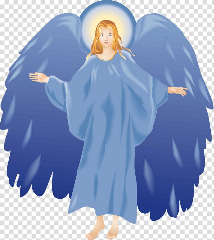 Angel Gabriel Cherub , angel transparent background PNG.