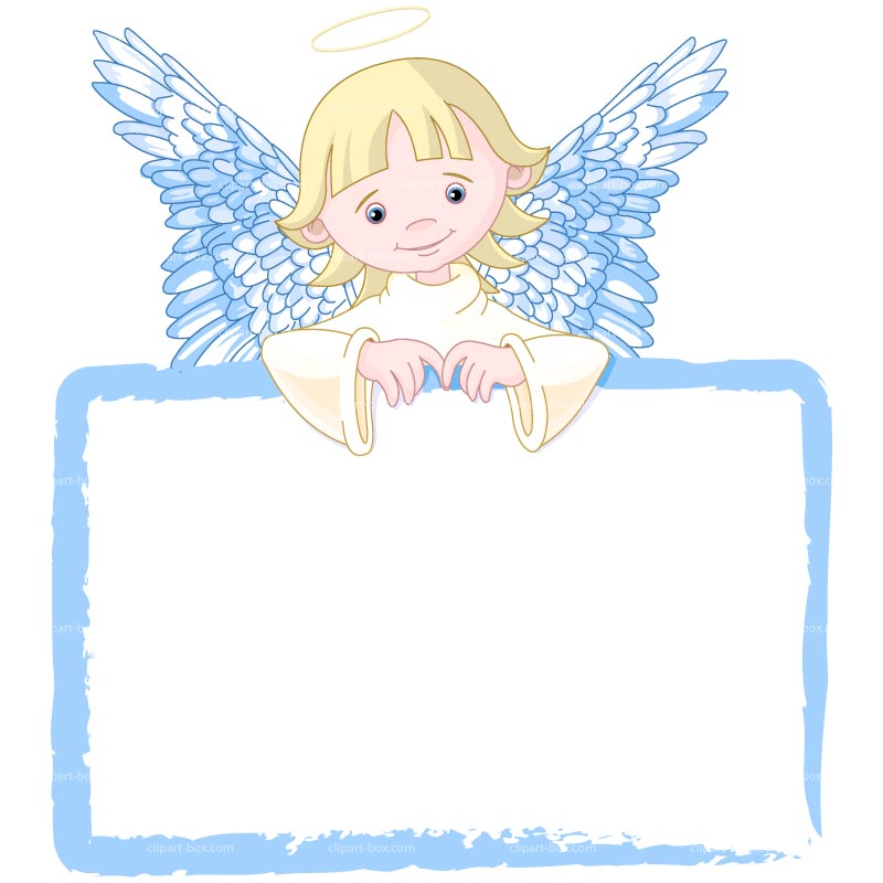 Angel clipart free graphics of cherubs and angels.
