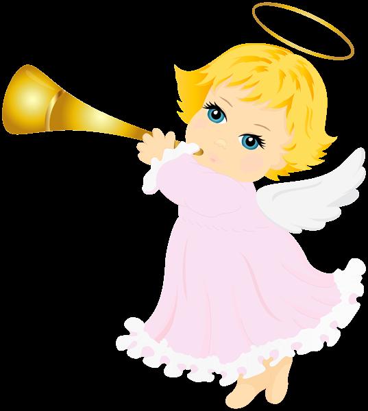 Angel Transparent Clip Art Image.