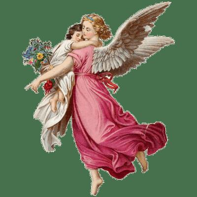 Angel Roses transparent PNG.