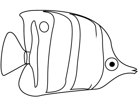 Angel Fish Clipart Black And White.