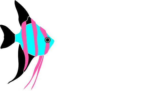 Hzo Angel Fish Clip Art at Clker.com.
