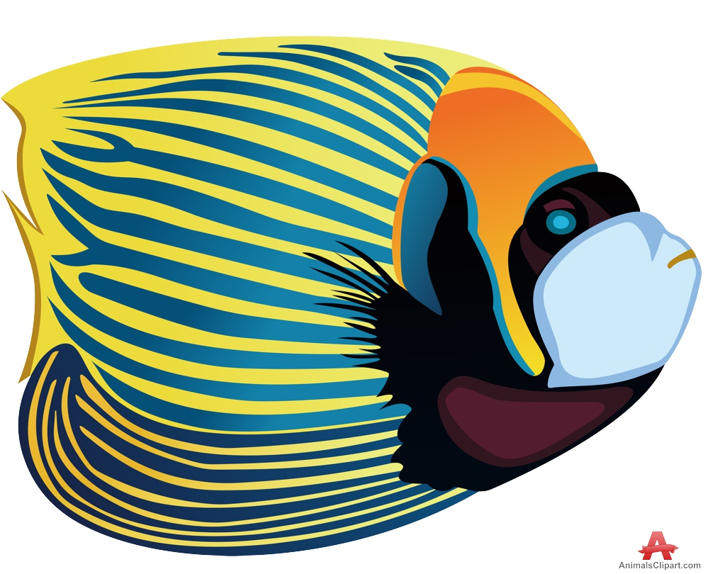 Angelfish Clipart on Open Mouth Clip Art