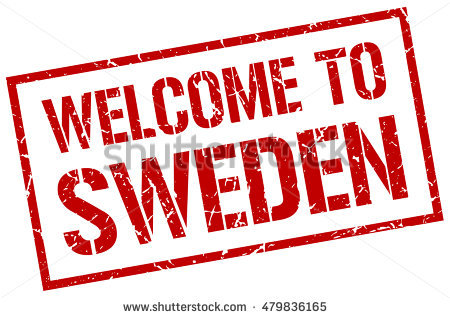Greeting From Sweden Stock Photos, Royalty.