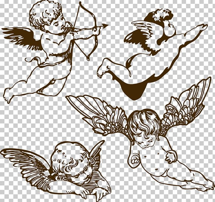 Angel Drawing Illustration PNG, Clipart, 3d Arrows, Arrow.