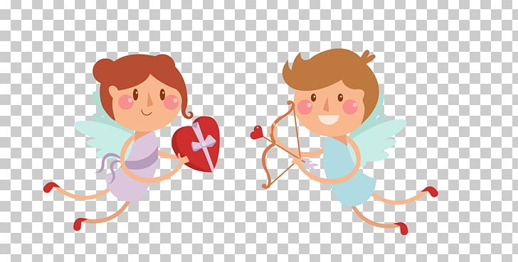 Cupid Euclidean Arrow Icon PNG, Clipart, 1000000, Angel.