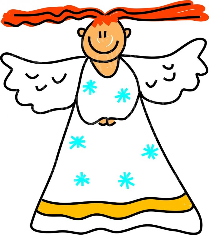 Toddler Art Angelic Kid Clipart Children.