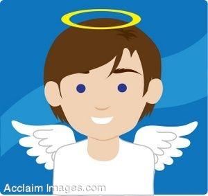 Angel Clipart Boy.