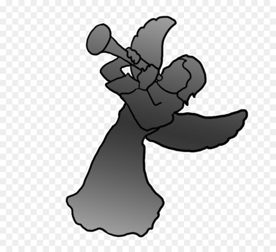 Trumpet Silhouette Clip art.