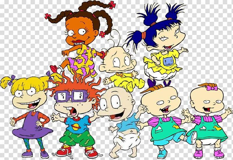 Angelica Pickles Tommy Pickles Chuckie Finster Rugrats.
