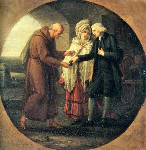 the Monk of Calais ca 1766.