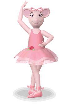 Angelina ballerina.