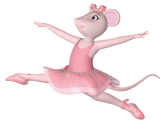 Angelina Ballerina Clipart.