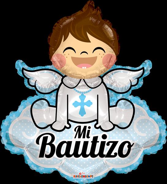Mi Bautizo Angelito Con Nube Gb 28