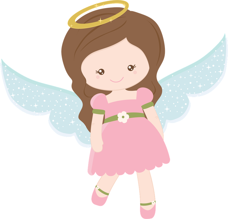 Bird and Angels Clipart..