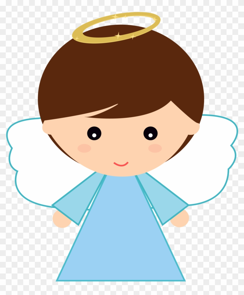Vector Angel Baby Clipart.