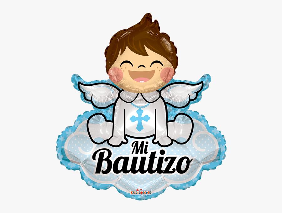 Mi Bautizo Angelito Con Nube Gb.