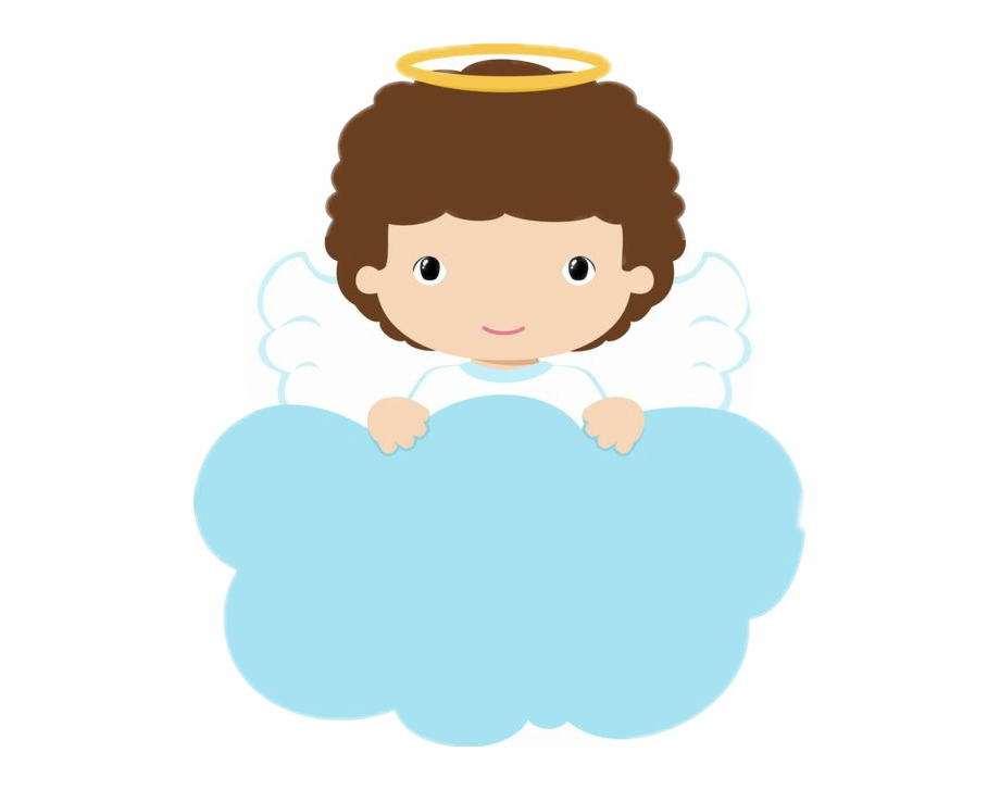 Angelito Sticker Baptism Baby Angels Png.