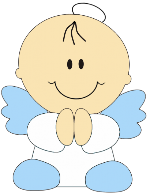 Angelitos para bautizo png 5 » PNG Image.