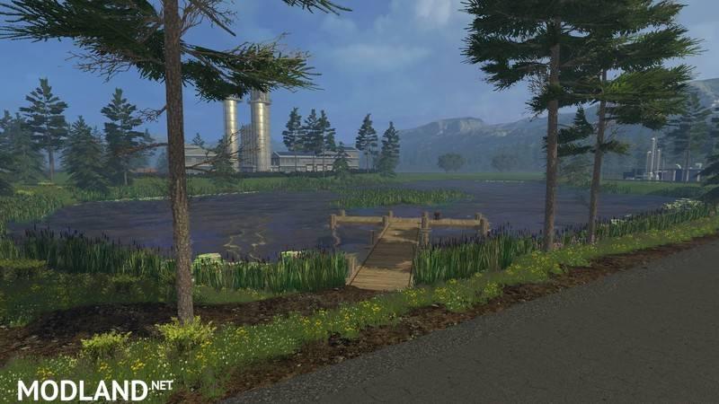 Angelner Map 2015 v 1.1d mod for Farming Simulator 2015 / 15.