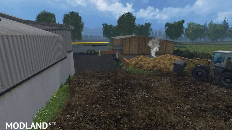 Angelner Map 2015 v 1.0 mod for Farming Simulator 2015 / 15.