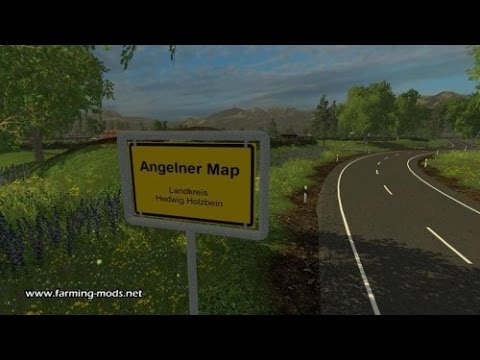 карта Angelner Map 2015 v1 1a для farming simulator 2015.