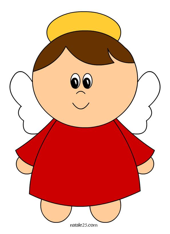 Angelo clipart clipground for Immagini da colorare angeli