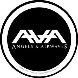 Angels & Airwaves Logo/Font in 2019.