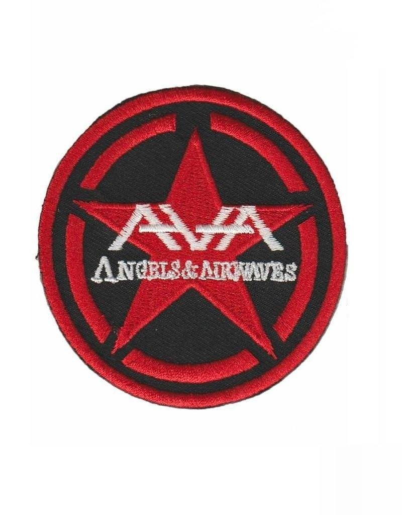 ANGELS & AIRWAVES Logo Iron On Embroidered Patch 3.