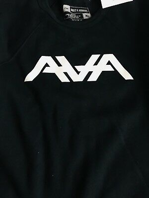 ANGELS AND AIRWAVES classic crewneck pullover logo NWT XL.