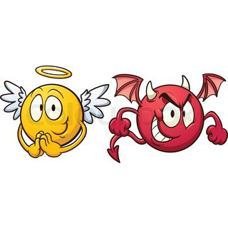 Angels And Demons Clipart at GetDrawings.com.