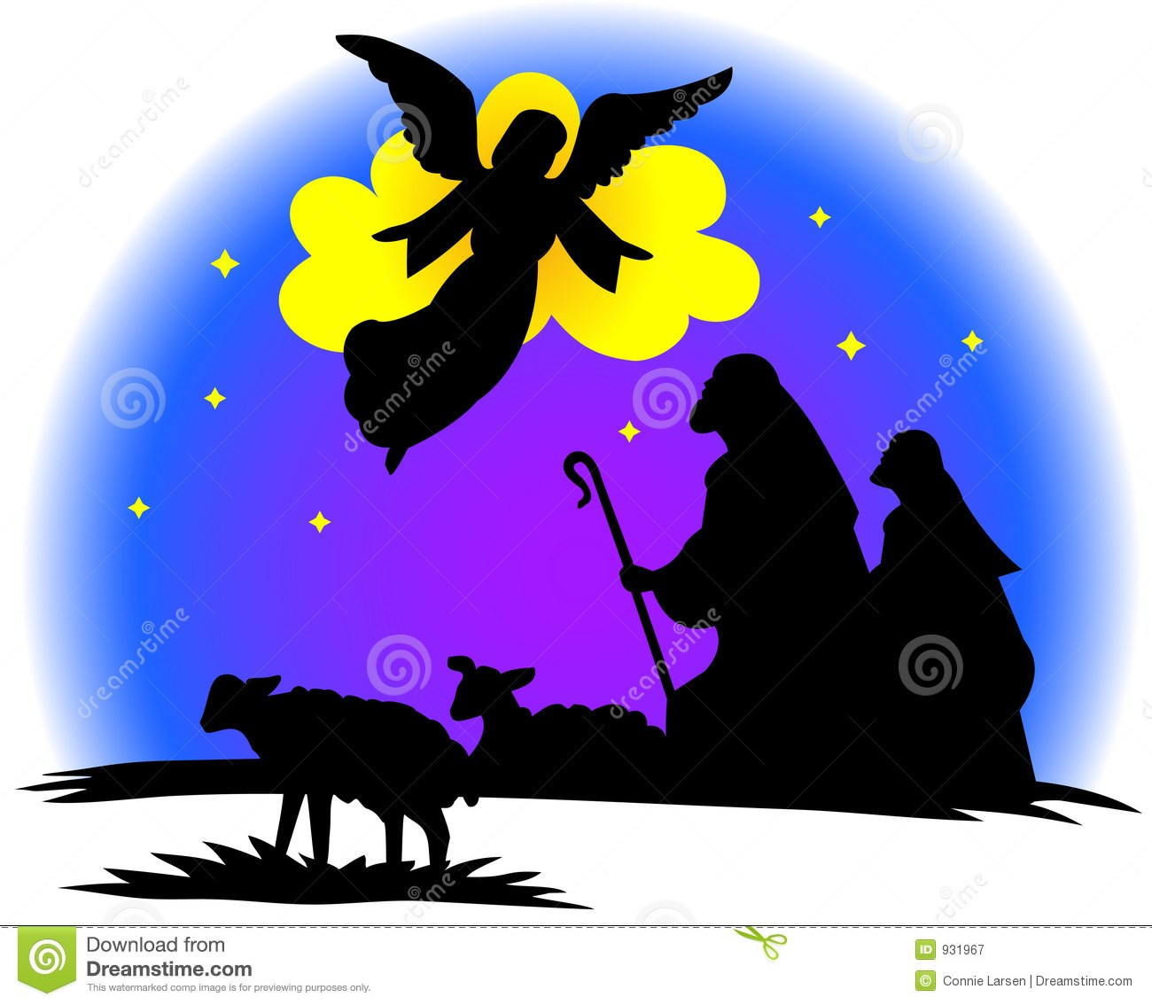 Angels and shepherds clipart 4 » Clipart Portal.