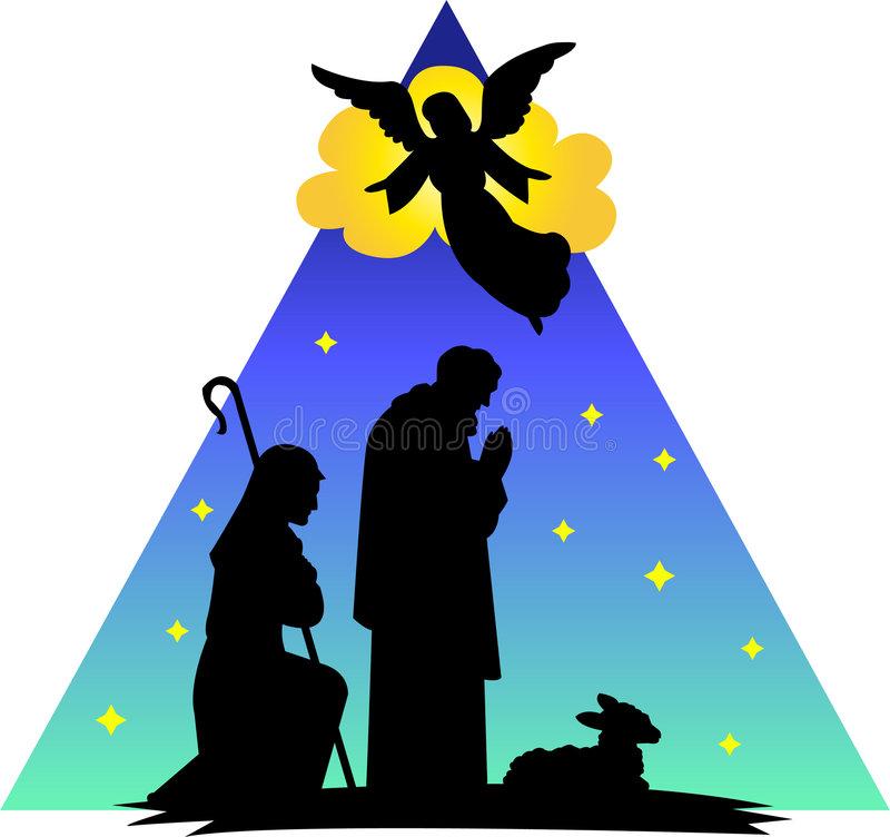 Angel Shepherds Stock Illustrations.