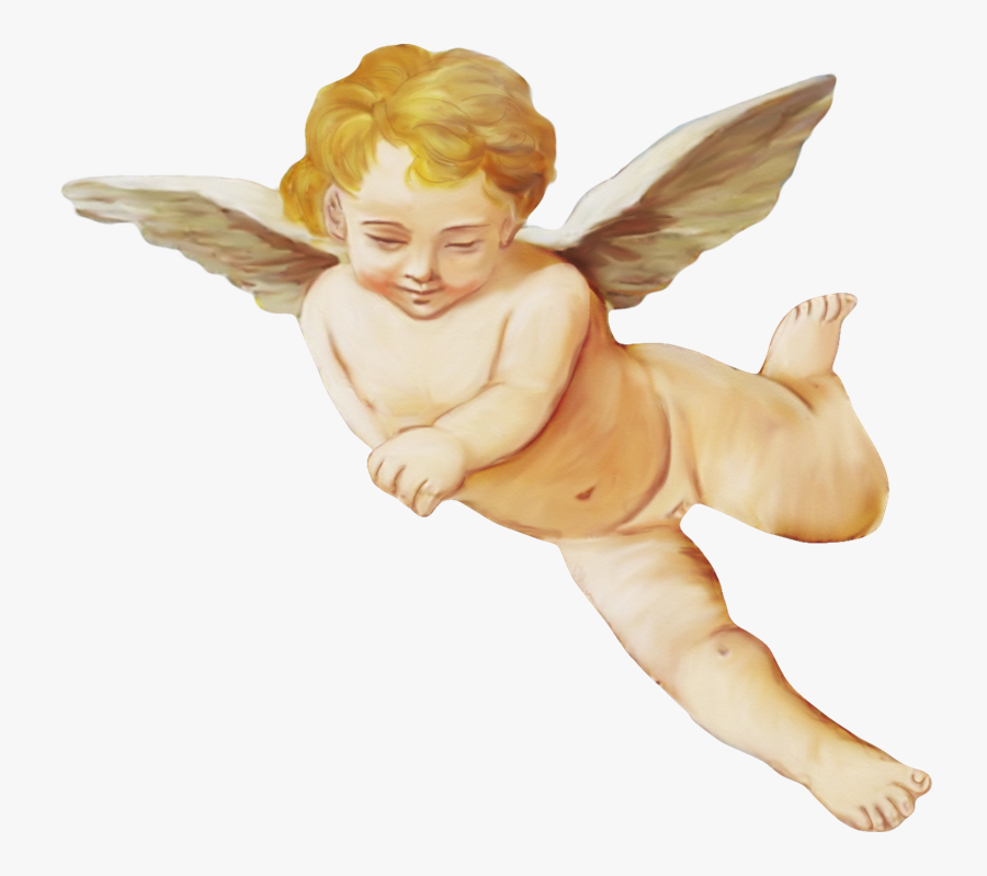 Transparent Vintage Angel Clipart.