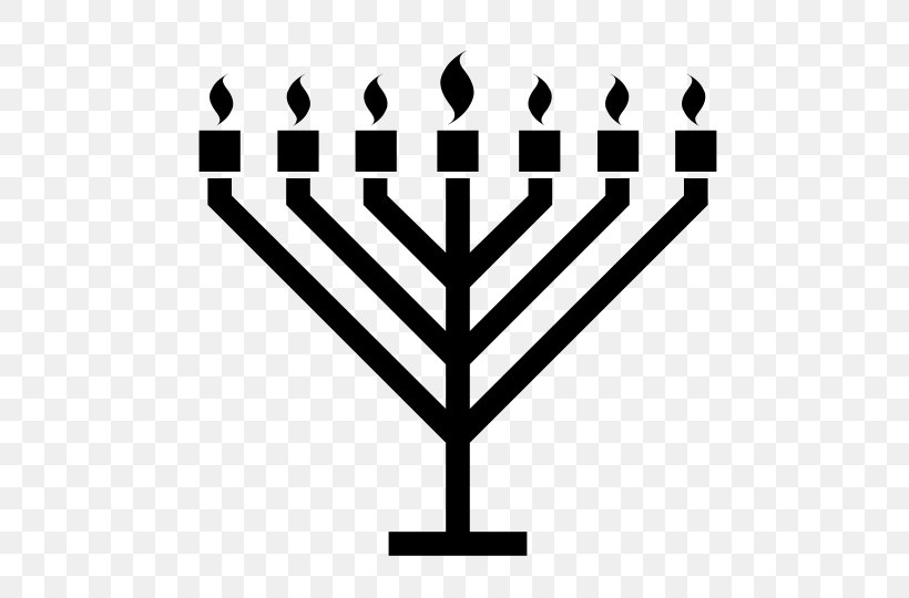 Celebration: Hanukkah Menorah Judaism, PNG, 540x540px.