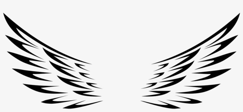 Simple Angel Wings Clip Art At Clker Source.